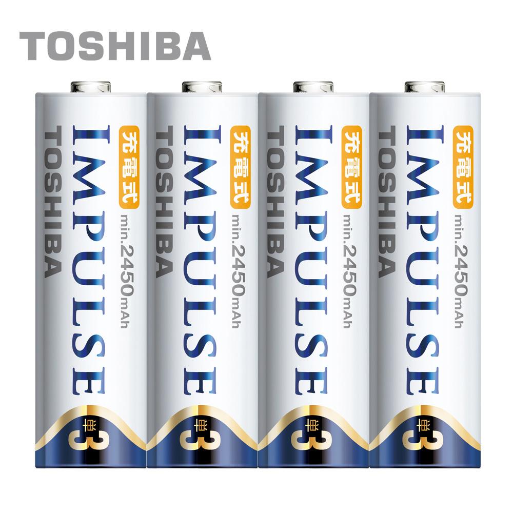 TOSHIBA IMPULSE 高容量低自放電電池(內附3號4入)