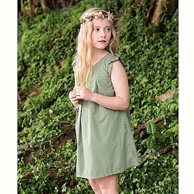 PIPPY 自然風無袖洋裝 綠