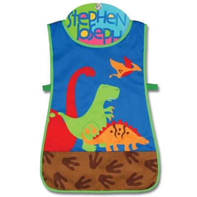 美國 Stephen Joseph 童趣造型防水圍裙 - 恐龍世界
