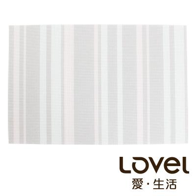 LOVEL 英倫手作風編織感餐墊-夜光瑩粉(1入組)