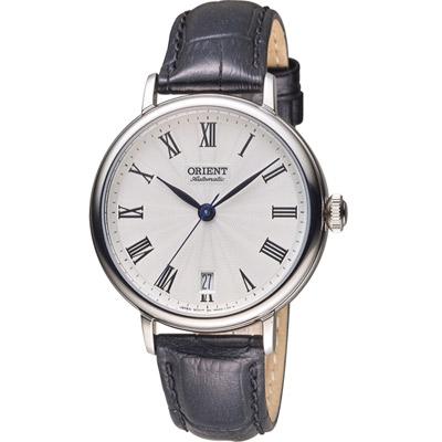 ORIENT 東方錶 羅馬假期復古機械錶-白/38mm