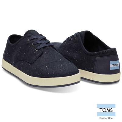 TOMS 毛料混紡織紋休閒鞋-男款