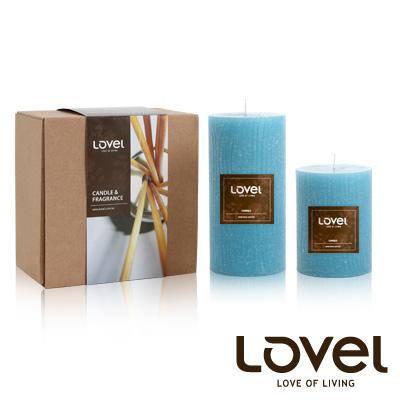 【LOVEL】香氛手工蠟燭組(樹木紋系列-海洋)