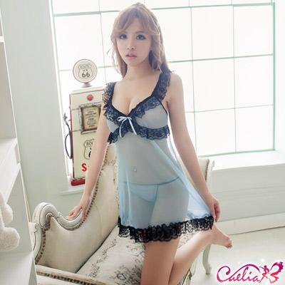 Caelia-嫵媚情人-柔紗二件式睡衣