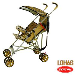 SYNCON Lohas 加寬嬰兒快收手推傘車