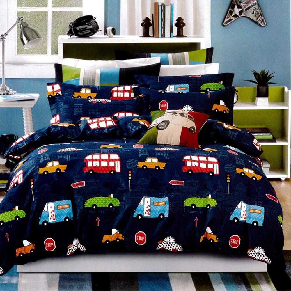 生活提案 純棉涼被床包組 雙人四件組 汽車城