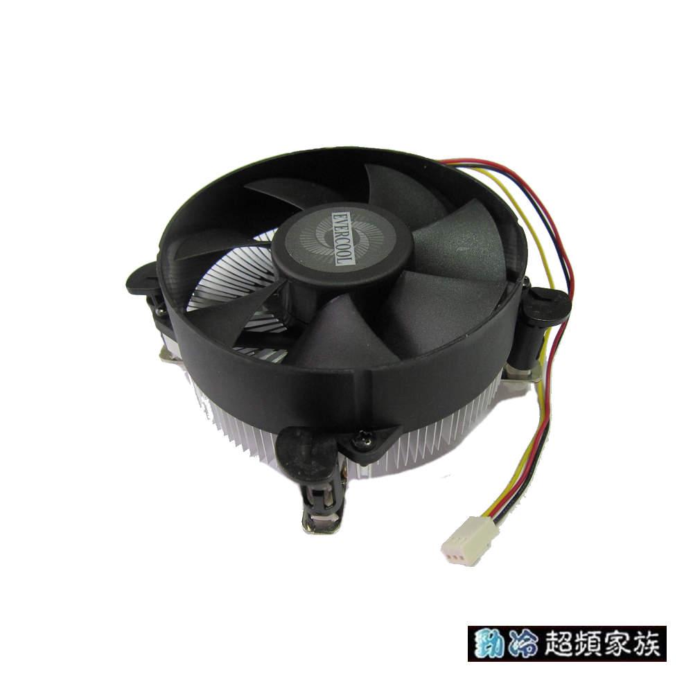 EVERCOOL 勁冷鋁擠型LGA115X散熱器 NI01L(P)-9225SA