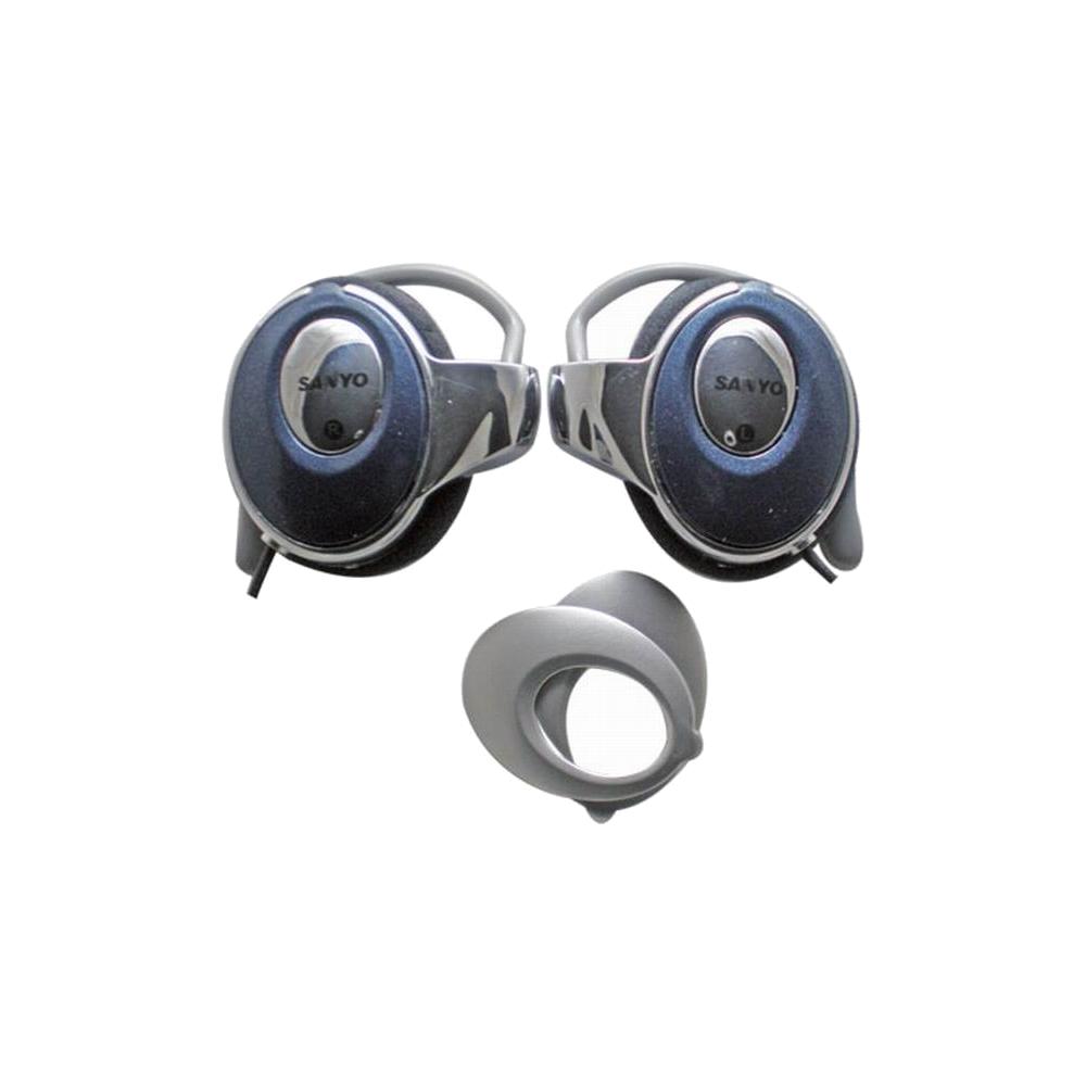 SANYO雙面板耳掛式耳機(MDR-2011-O)散裝