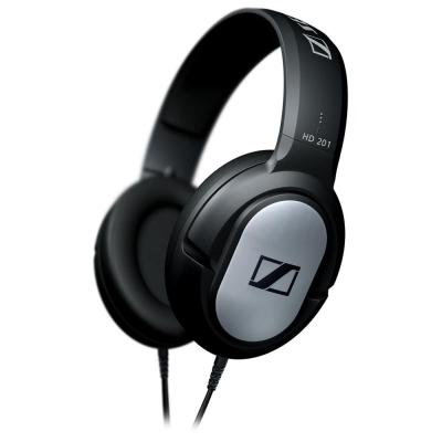 SENNHEISER HD201 開放式高傳真立體耳罩式耳機