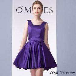 法式魚骨婚紗伴娘禮服-OMUSES