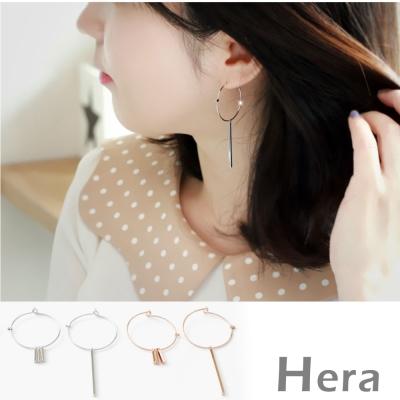 Hera 赫拉 太陽的後裔宋慧喬款大圓圈不對襯耳環-2色