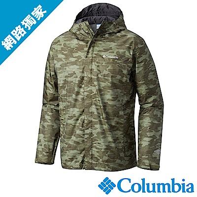 Columbia哥倫比亞 男款 OT 防水外套迷彩 (URE10010NC)
