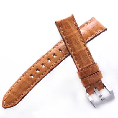 TED SU 太和錶帶 狂野週末ROLEX勞力士代用帶金色同色線-20*18mm