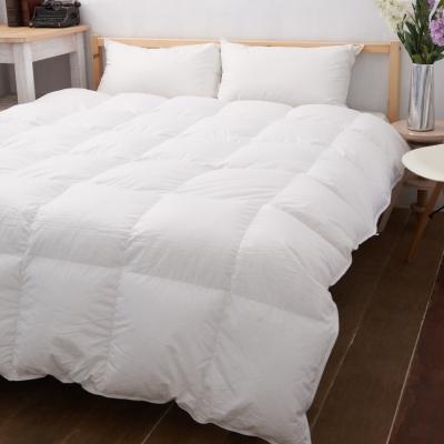 Fuwari-MIT台灣製-經典純棉立體羽絨被2-0kg-典雅白