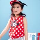 Disney米奇俏皮前綁背心 紅色