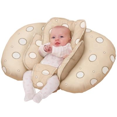 奇哥 ClevaMama 十合一育嬰枕-米色