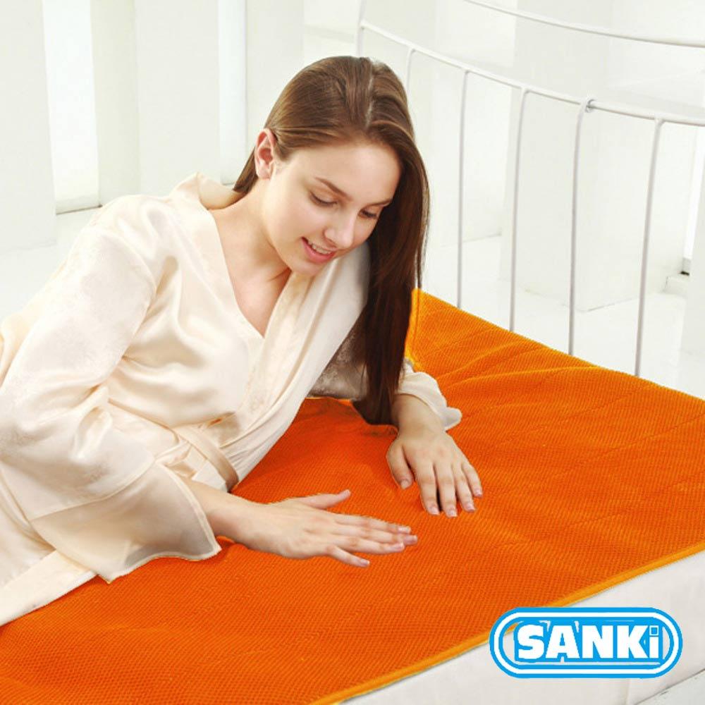三貴SANKI 獨立氣泡發熱舒適保暖墊-時尚橙 雙人 (140*200cm)2入 @ Y!購物