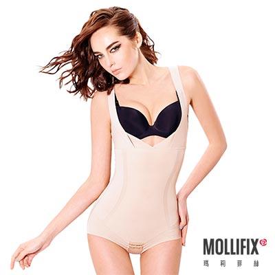 Mollifix 隱形殺手環繞連體塑身衣 (裸膚)