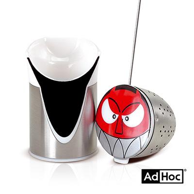 德國AdHoc 人物造型濾茶器 (DEVIL)