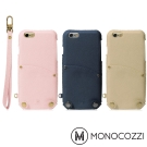 MONOCOZZI Posh iPhone 7/8 掛繩口袋皮套