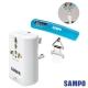 SAMPO單USB萬國充電器轉接頭EP-UA2CU2(W)+行李秤BF-L1402AL product thumbnail 1