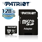 Patriot美商博帝 MicroSDXC 128G Class10記憶卡