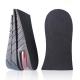 足的美形   黑色氣墊式三層半墊(2雙) product thumbnail 1