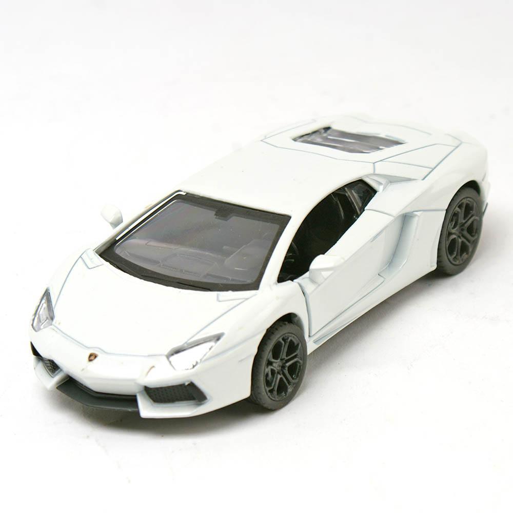 任選 世界名車大賞迴力合金車 藍寶堅尼 Aventador LP700-4(白)