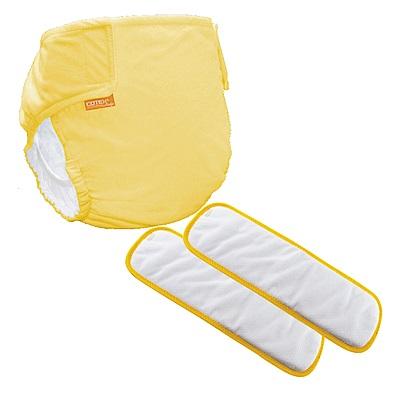 〔可透舒〕夜用體驗組--DB500無扣式單一尺寸布尿布
