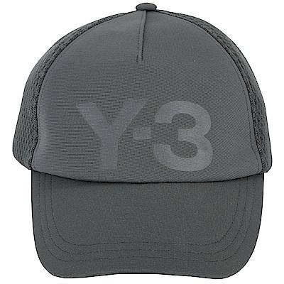 Y-3 TRUCKER 拼接網眼布料棒球帽(深灰色)