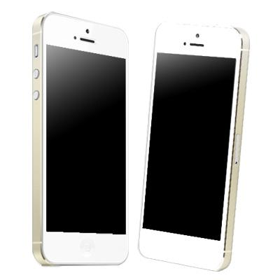 IPHONE 5/5S/SE 高透明邊條保護膜(二組入)
