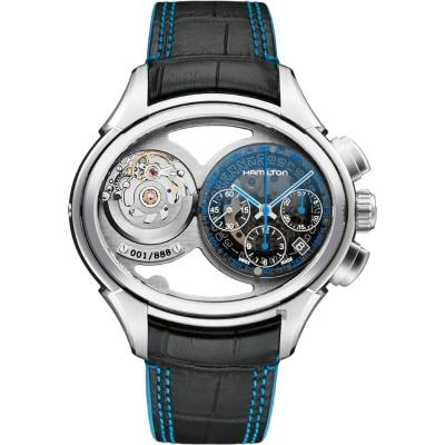 Hamilton Jazzmaster 爵士 Face <b>2</b> Face 限量機械腕錶