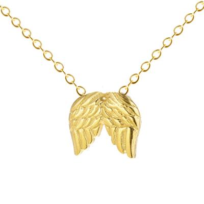 Dogeared  ANGEL WINGS 天使羽翼翅膀金色許願項鍊