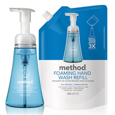 Method 美則 海藍礦物天然泡沫洗手露超值組