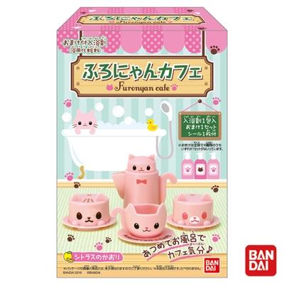 日本Bandai-貓咪咖啡館入浴劑6入