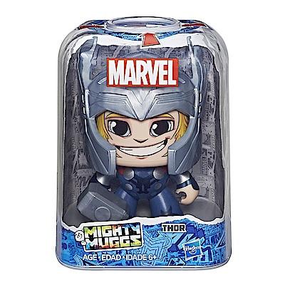 孩之寶 Marvel漫威英雄 酷頭玩偶 Thor 雷神索爾 變臉公仔