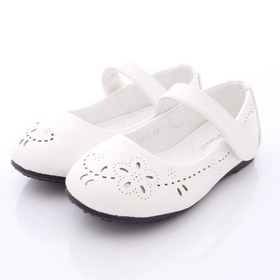 PV日系私藏~優雅公主鞋款-5315白(中大童段)N