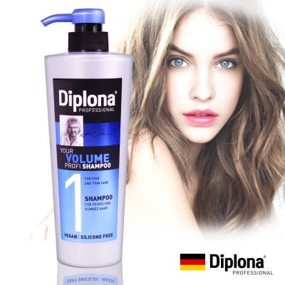 德國Diplona豐盈亮采洗髮精600ml(不含矽靈、PARABENS)