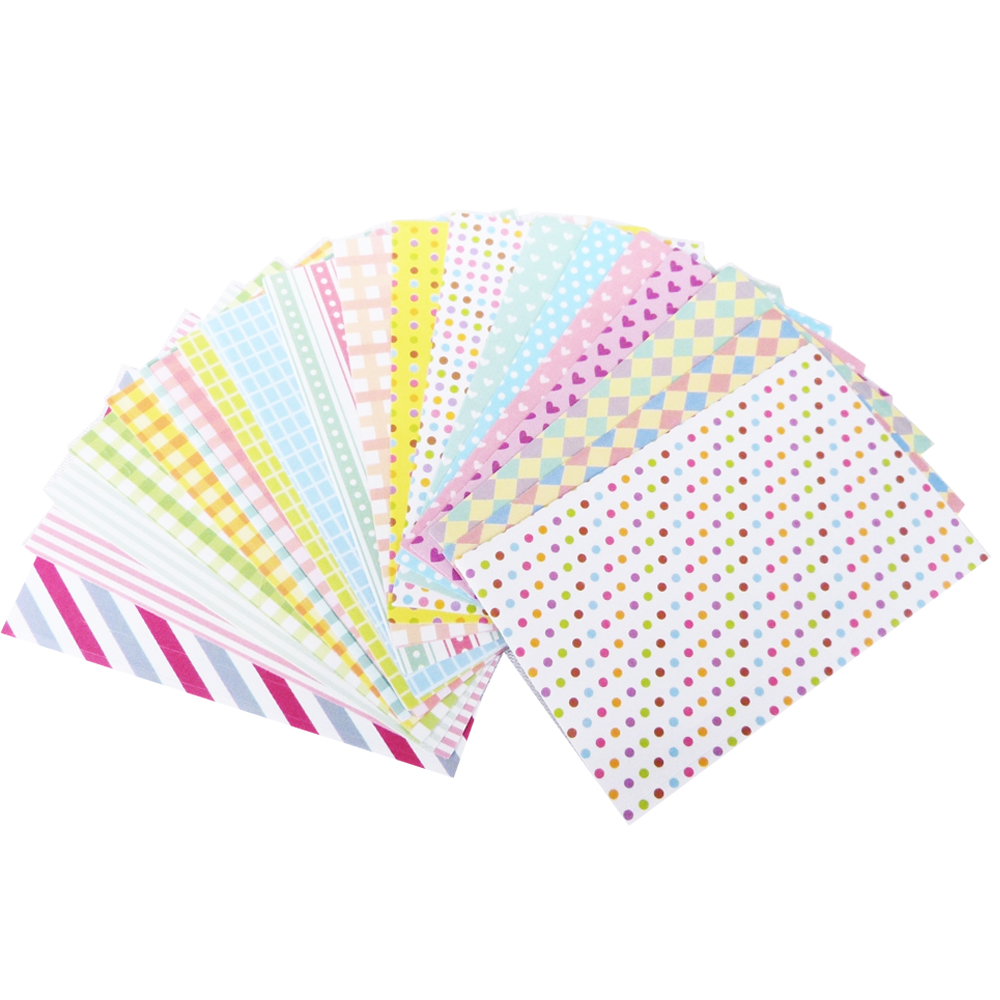 kiret韓國DIY相框拍立得相片邊框貼紙40入-愛心Pastel