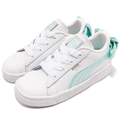 Puma 休閒鞋 Basket Bow 童鞋