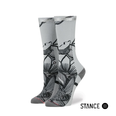 STANCE  LINED LEAVES-女襪