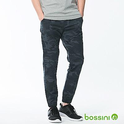 bossini男裝-輕鬆束口長褲02暗藍