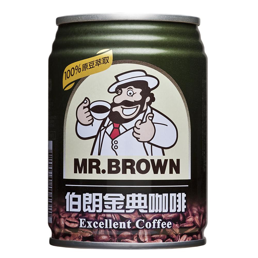 金車 伯朗金典咖啡(240mlx24罐)