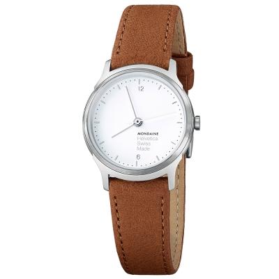MONDAINE 瑞士國鐵設計系列腕錶-棕/26mm