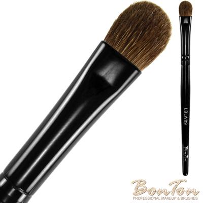 BonTon 墨黑系列 眼影刷(M) LBLW09 高級小馬毛