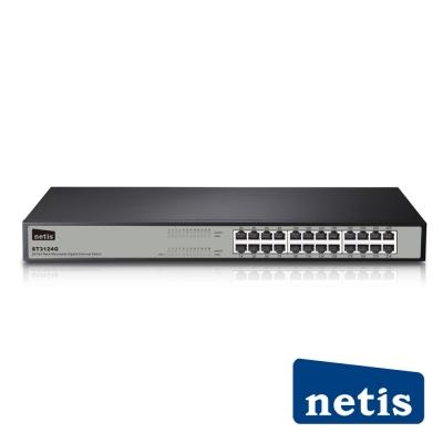 netis ST3124G 24埠機架式Giga乙太網路交換器