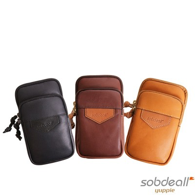 SOBDEALL-沙伯迪澳-植鞣革率性腰包