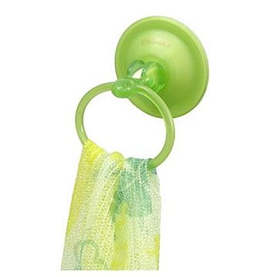 FREEHOME 吸盤式毛巾環架
