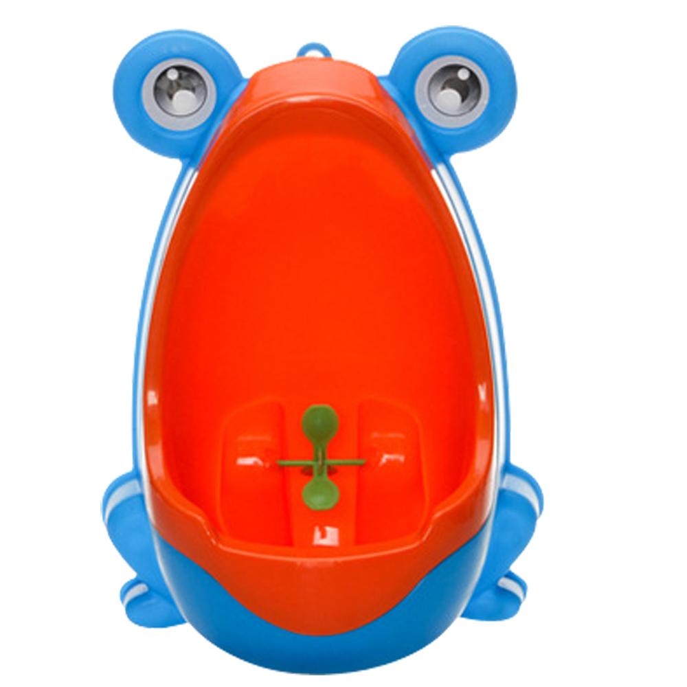 可愛青蛙造型男寶寶訓練尿尿小便斗 (共三色)