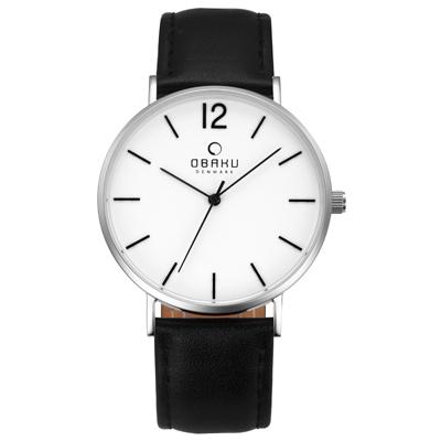 OBAKU 精粹重現十週年限定真皮錶款-V197GXCWRB/40mm